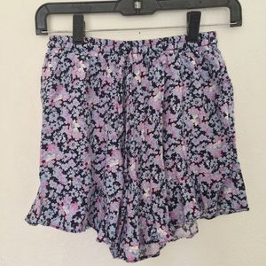 Mossimo Paisley Floral Multicolored Shorts